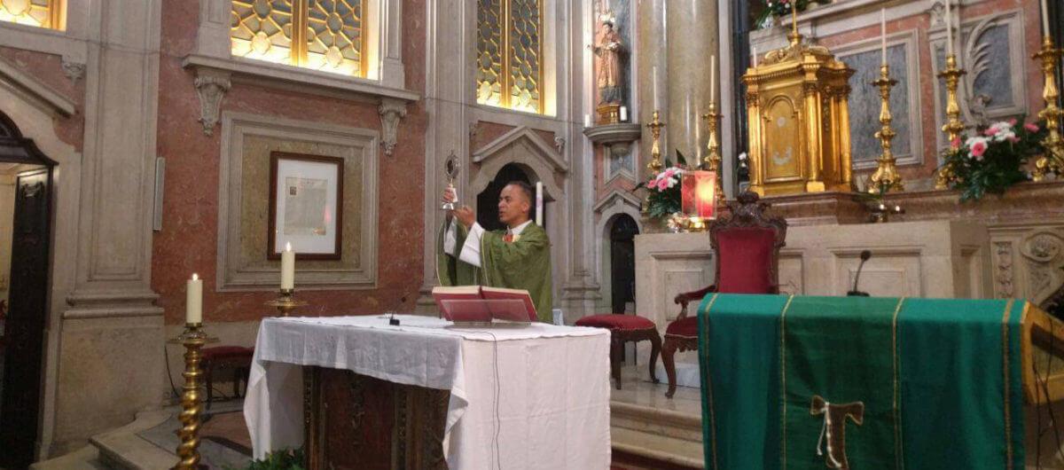 Padre Marciano Paroquia Santo antonio