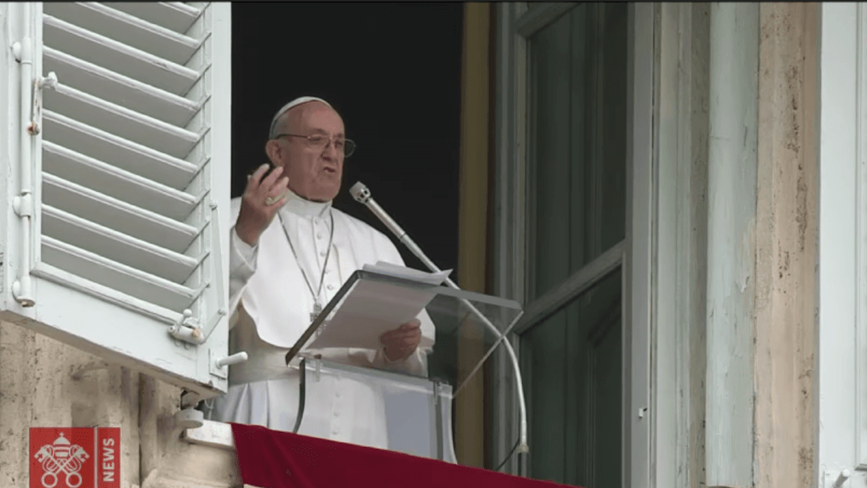 Papa Francisco- Oracão do Angelus 2018-02-25