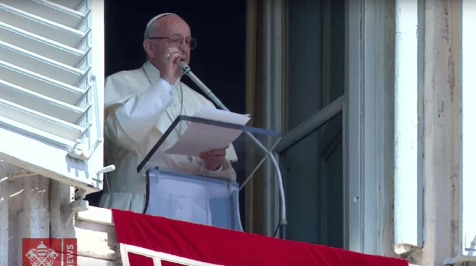 Palavra do Papa -22 de Abril de 2018