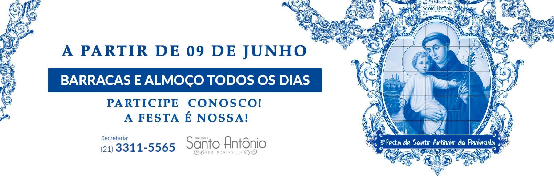 3ª FESTA DE SANTO ANTÔNIO