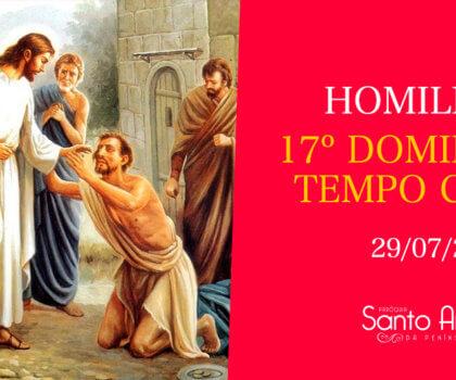 Homilia do 17º Domingo Comum - Pe. Marciano