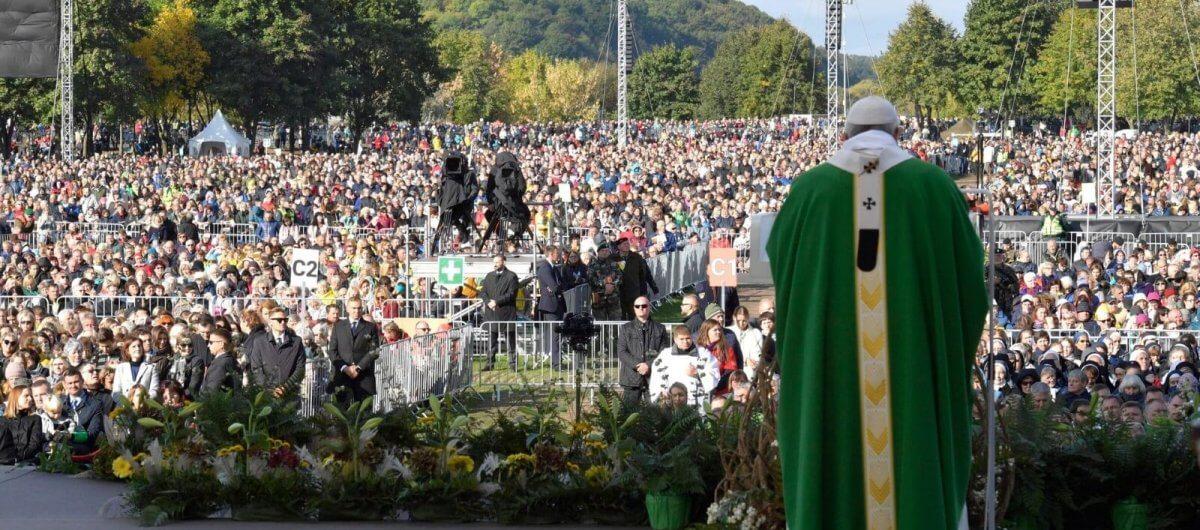 Lituânia, Kaunas, Parque Sántakos - Domingo, 23 de setembro de 2018