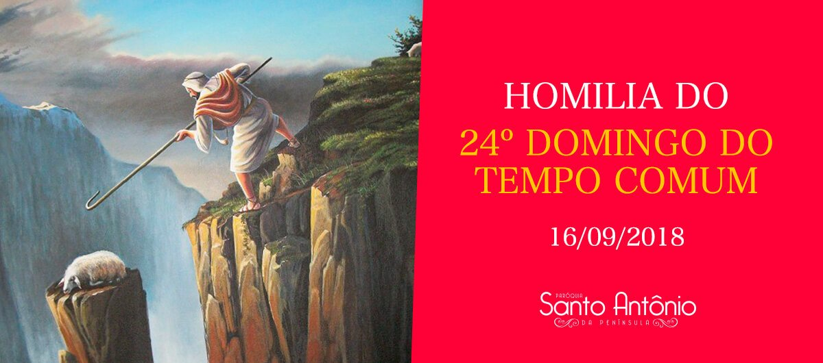 Homilia do 24º Domingo do Tempo Comum